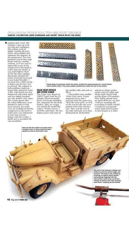 Tamiya Model Magazine screenshot-2