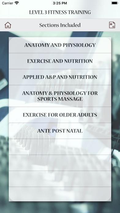 Level 3 Fitness Training Test screenshot 9