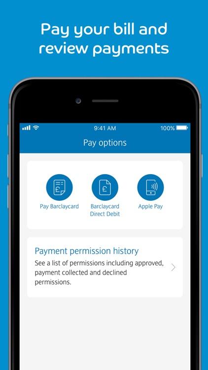 Barclaycard screenshot-3