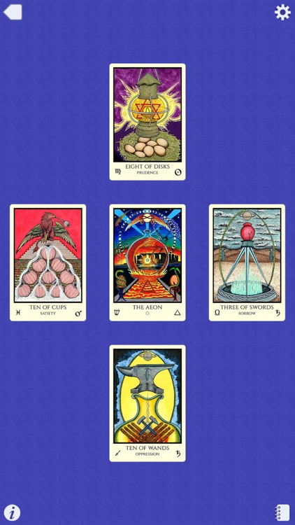 Tabula Mundi Tarot screenshot-4