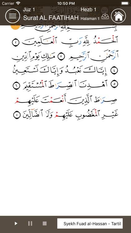 Learn Arabic- Juz' Amma Indo screenshot-7