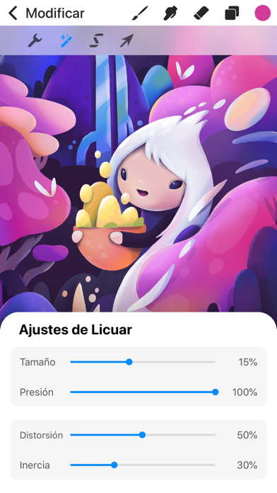 Screenshot for Procreate Pocket in Colombia App Store