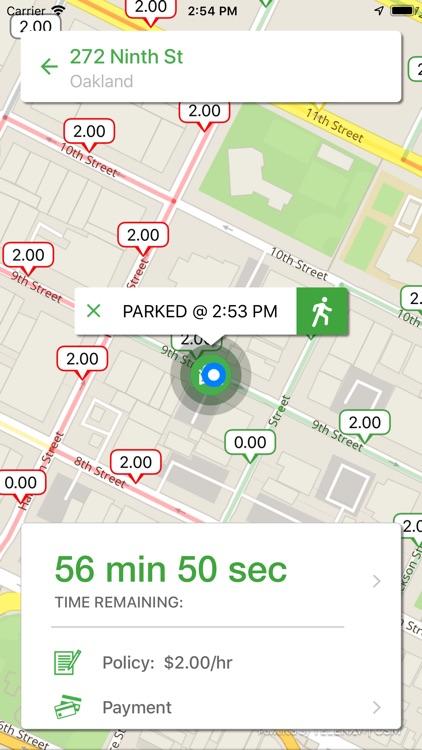 Parker - Find open parking screenshot-3