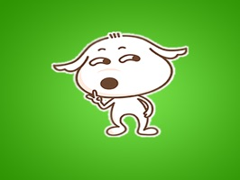 Personalize your messages with animated Dog stickers