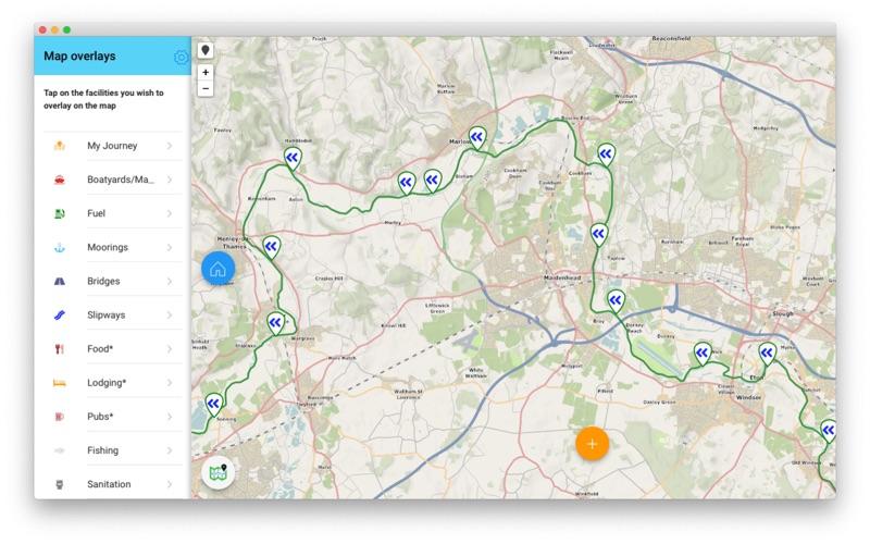 RiverThamesGuide скриншот программы 1