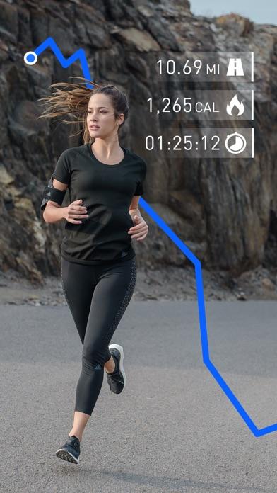Screenshot for Runtastic Running Tracker PRO in Czech Republic App Store