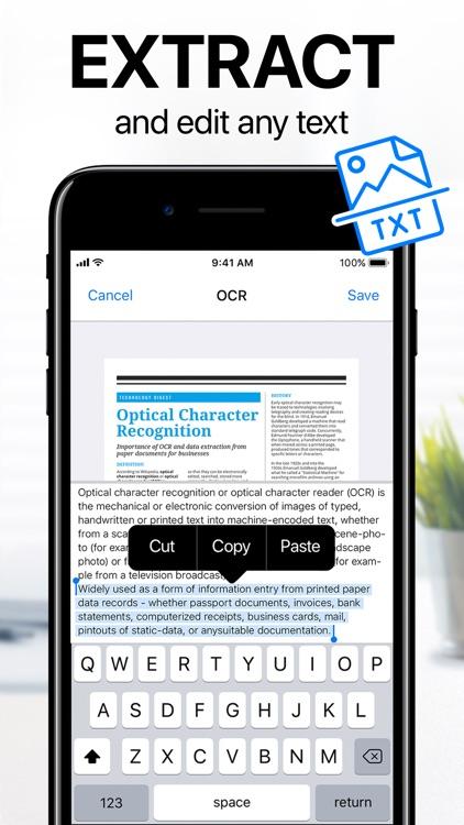 iScanner - PDF Scanner App screenshot-4