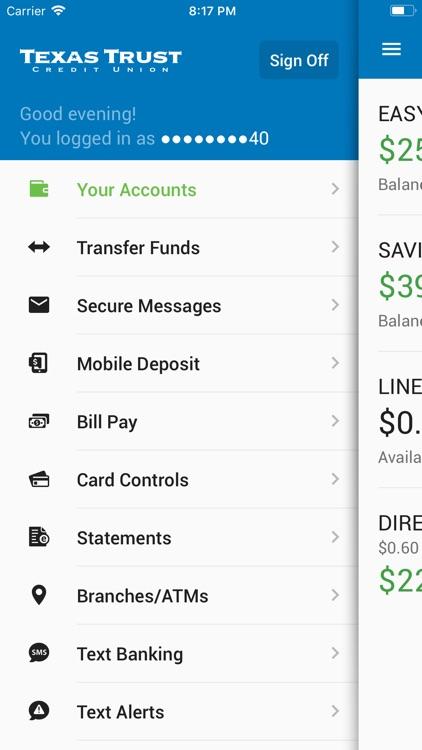 Texas Trust's Mobile Banking screenshot-3