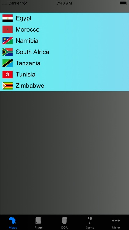 Africa Country's State Maps screenshot-6