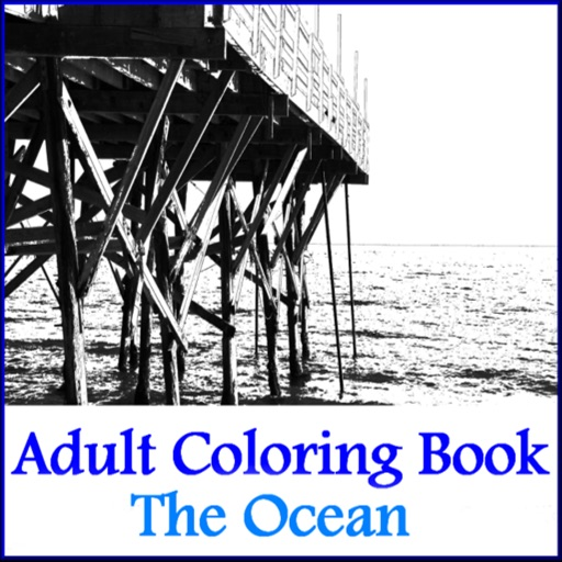 Coloring Book - Ocean Airbrush