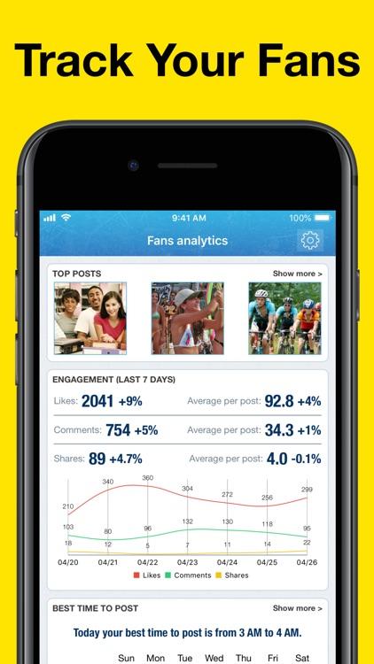 MyTopFans - Social Tracker