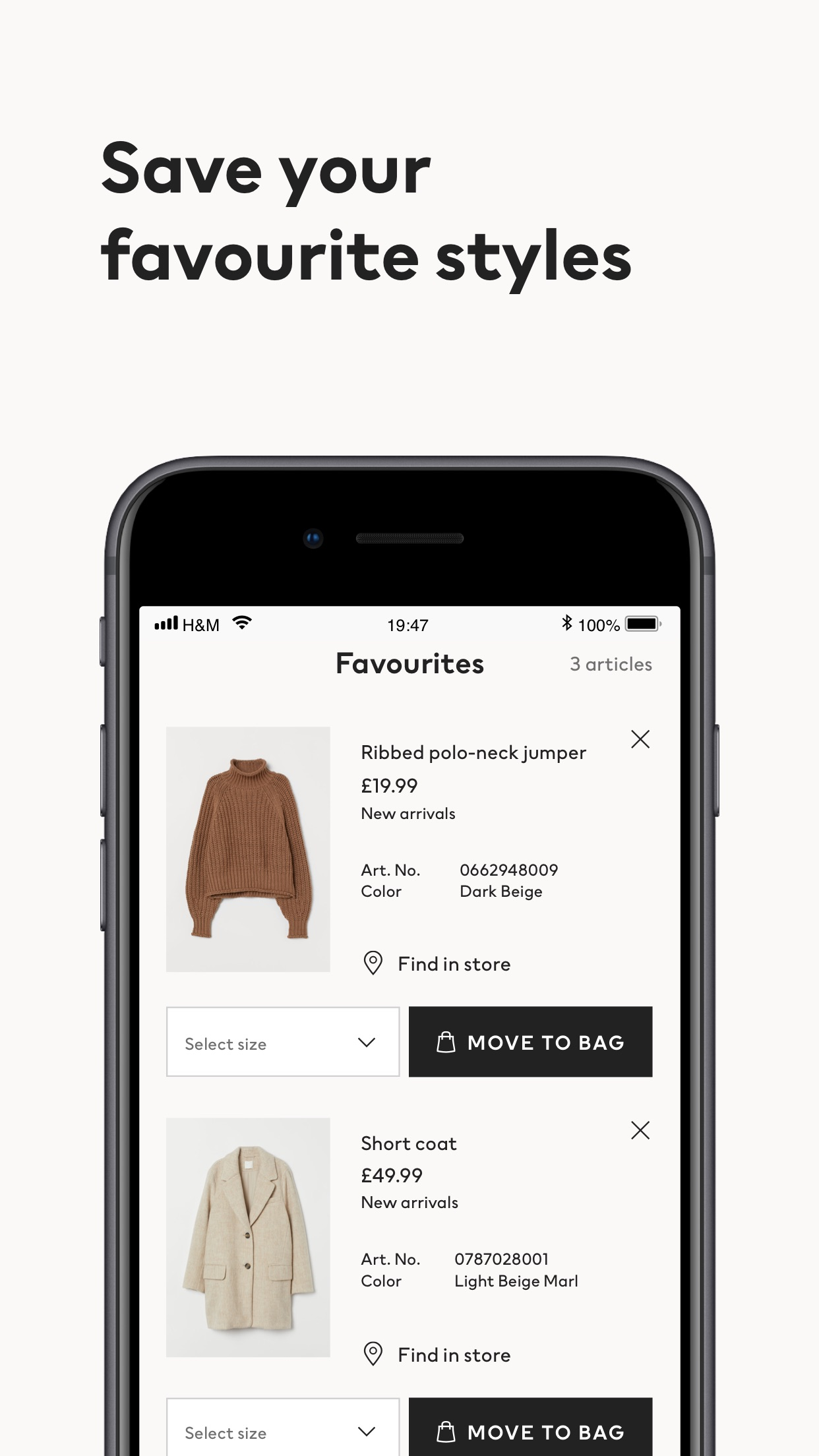 H&M - nos encanta la moda Screenshot