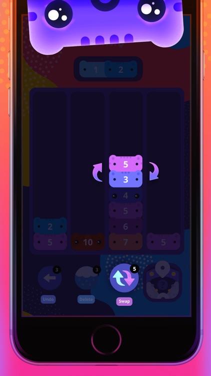 CATRIS - Cute Merging Cat Game screenshot-3
