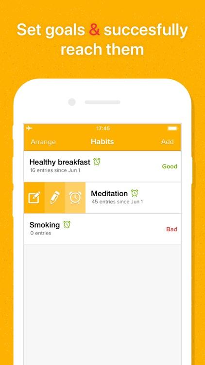 My Habits: Daily Habit Builder screenshot-3