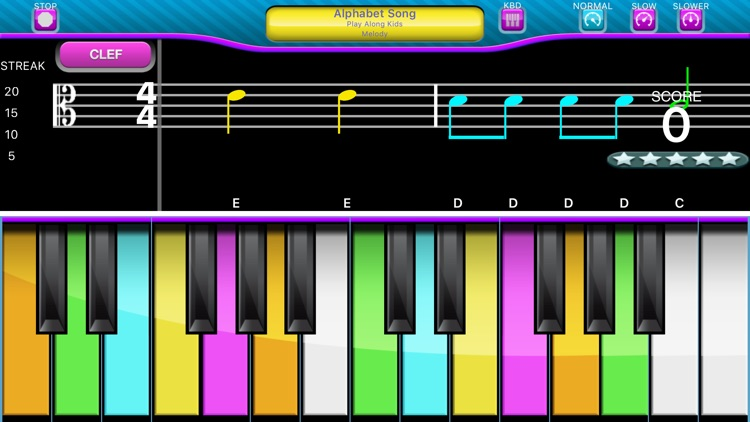 Play Along Keys  piano karaoke screenshot-5