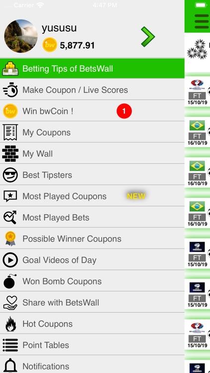 BetsWall Football Betting Tips