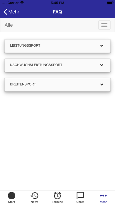 Bay. Gehörlosen-SportverbandScreenshot von 6