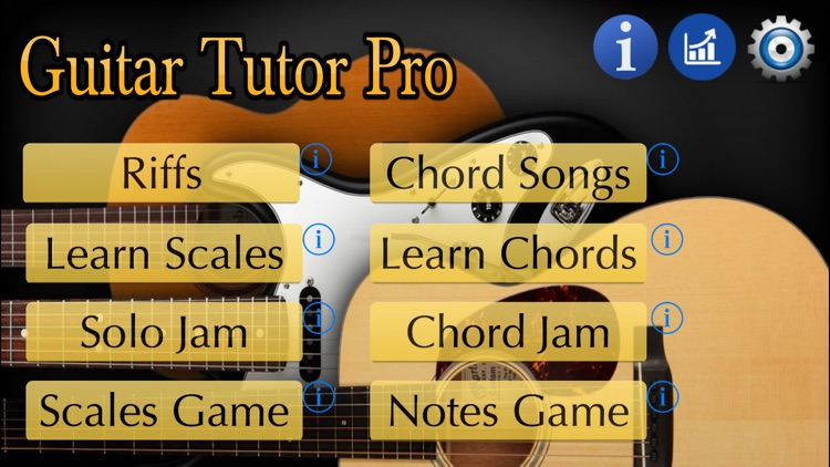 Guitar Tutor Pro screenshot-2