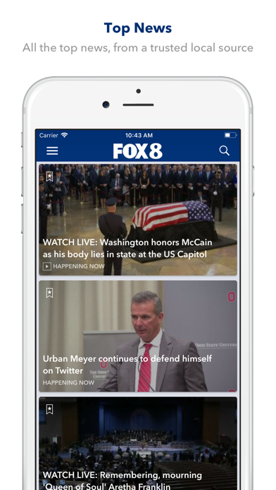 Top 10 Apps like FOX 5 News - San Diego in 2019 for iPhone