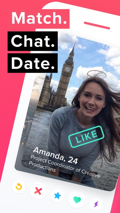 Screenshot for Tinder in Jordan App Store