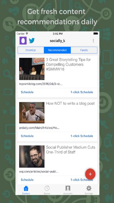 DrumUp-Social Media Management screenshot one