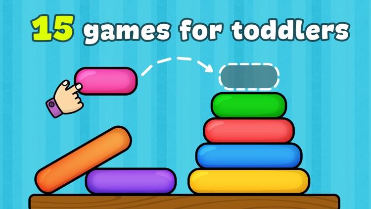 Preschool games for toddler 2+ screenshot-0