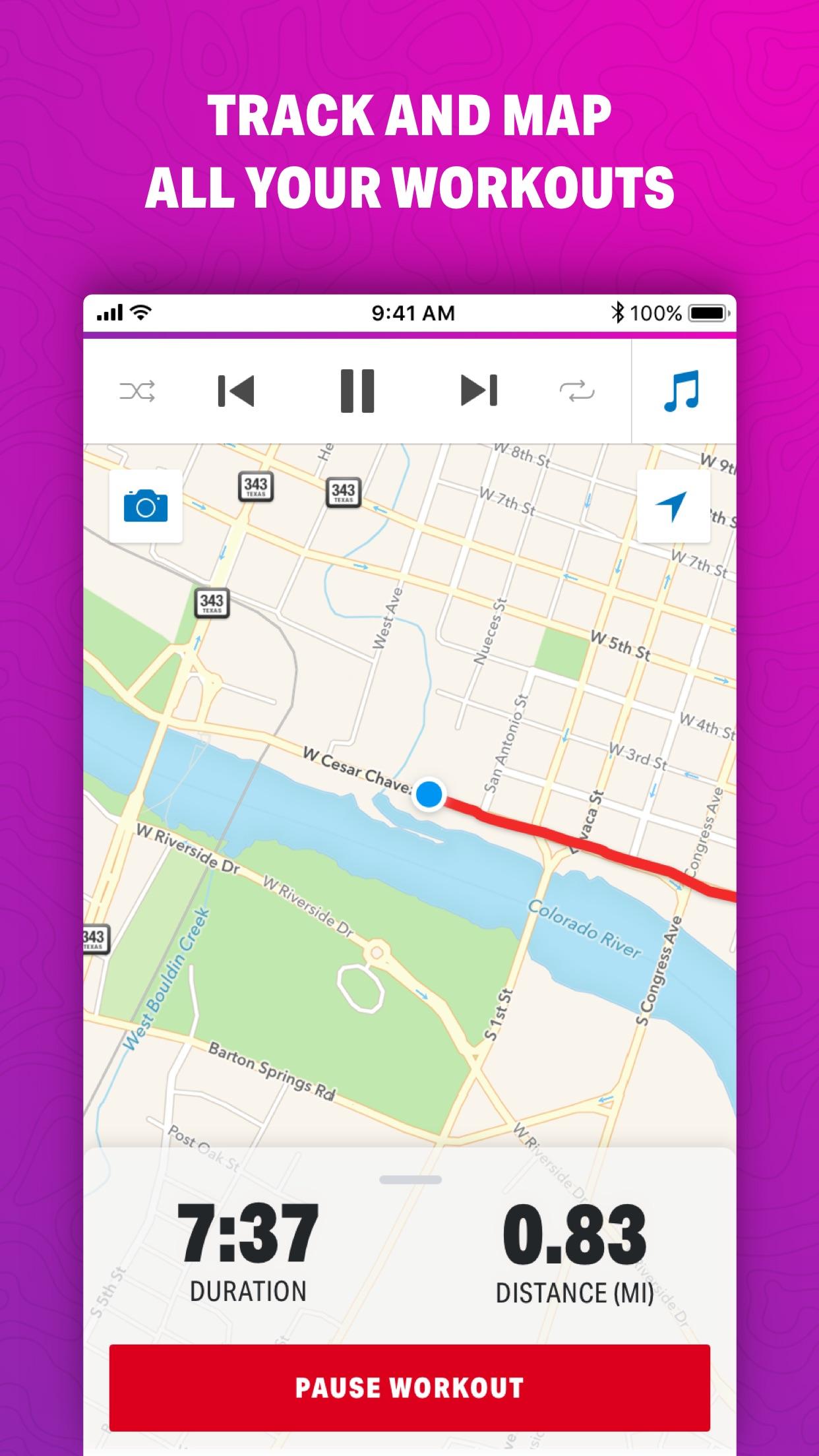 Map My Walk by Under Armour Screenshot