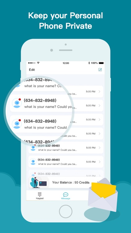 Phone number line : Text+Call screenshot-3