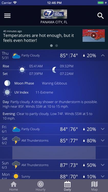 WJHG Weather screenshot-3