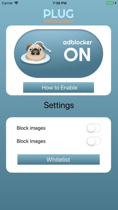 Plug Adblocker screenshot #1