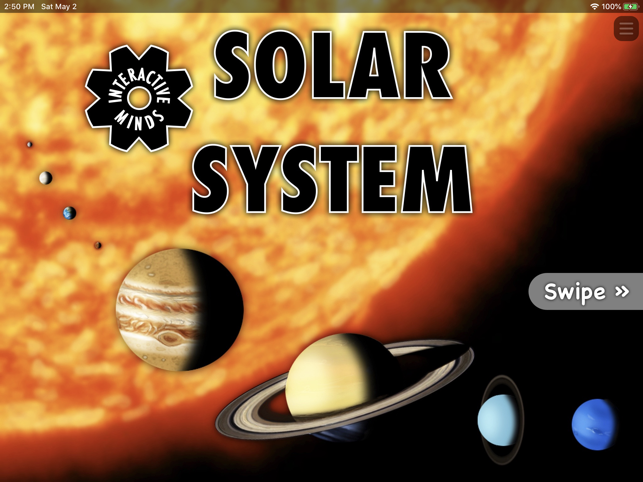 ‎Interactive Minds Solar System Screenshot