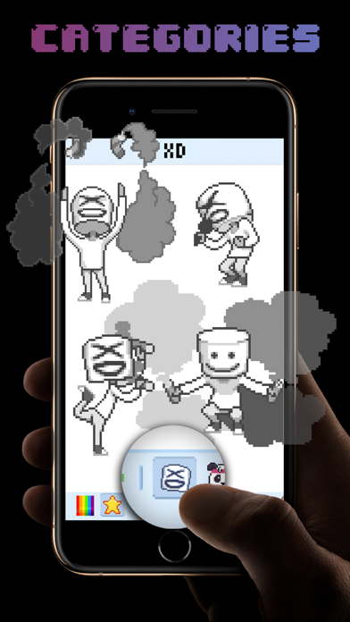 XD pixel - video coloring book Screenshot