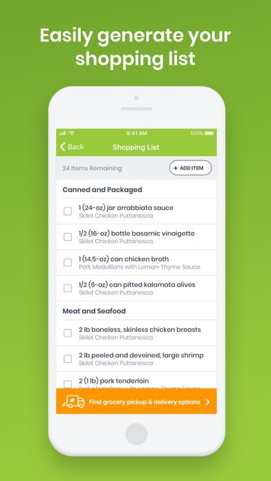 eMeals - Healthy Meal Plans Screenshot