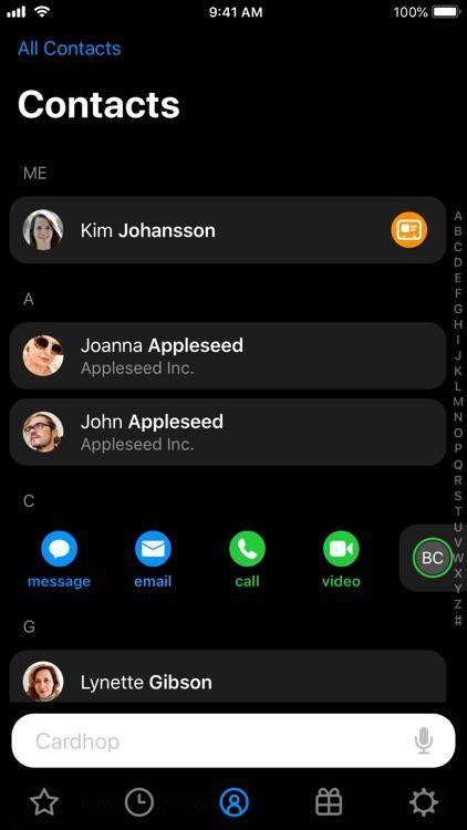 Cardhop screenshot-0