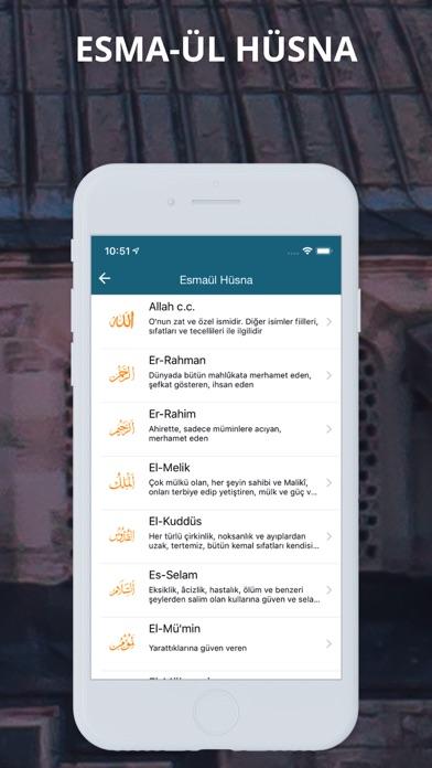 Ezan Vakti Pro iphone ekran görüntüleri