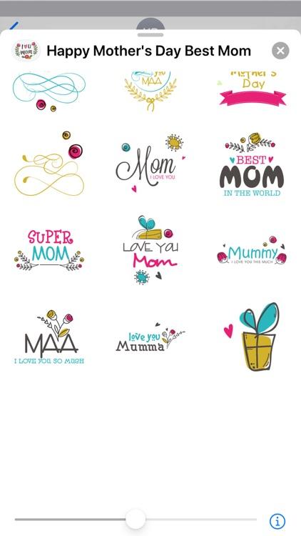 Happy Mother's Day Best Mom screenshot-4