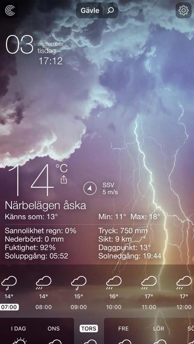 Väder Live - Lokal prognos på PC