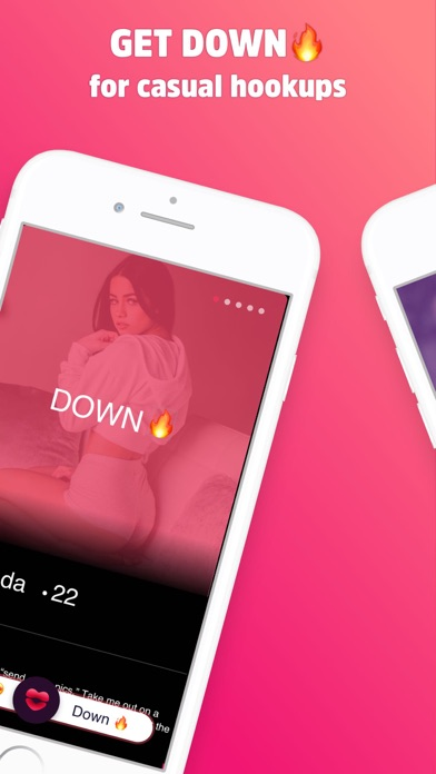 DOWN Hookup: 18+ Private Match Screenshot