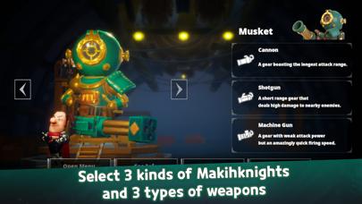 Machiknights - Blood Bagos screenshot #3
