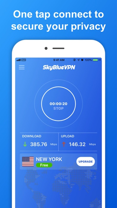 SkyBlueVPN: VPN & Ad Blocker wiki review and how to guide