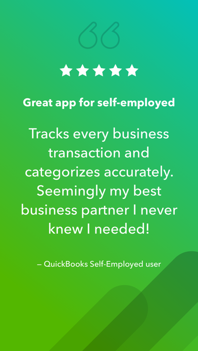 QuickBooks Self-Employed Screenshot