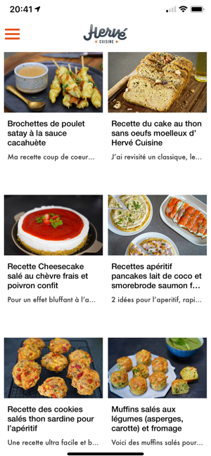 Herve Cuisine On The App Store