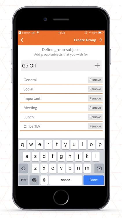 Groupee Messenger screenshot-4