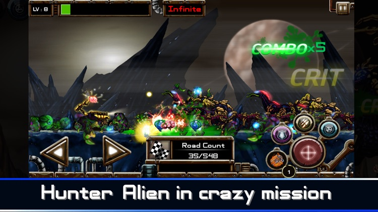Alien Hunter, Zombie Shooter