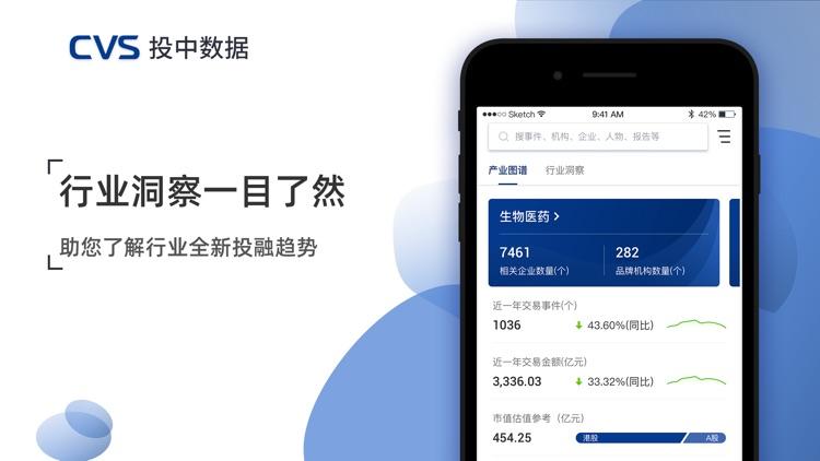 CVS投中数据-融资私募投资募资项目数据库 screenshot-3