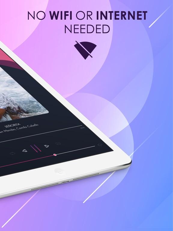 Offline Music: Play Music-ipad-1