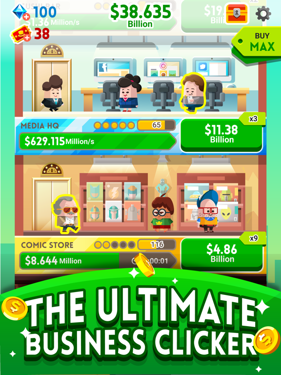 Cash, Inc. Fame & Fortune Game screenshot 2