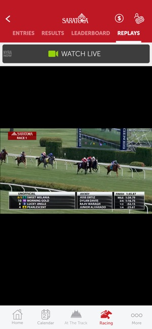 NYRA At The Track Horse Racing on the App Store