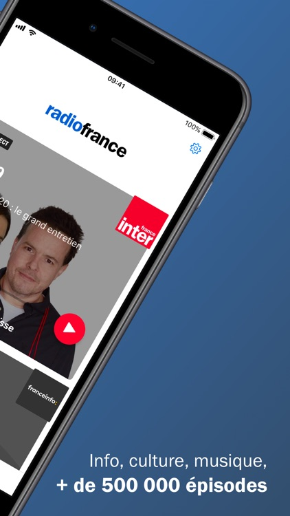 Radio France - podcast, radios