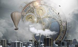 Clock: Sci-Fi Edition